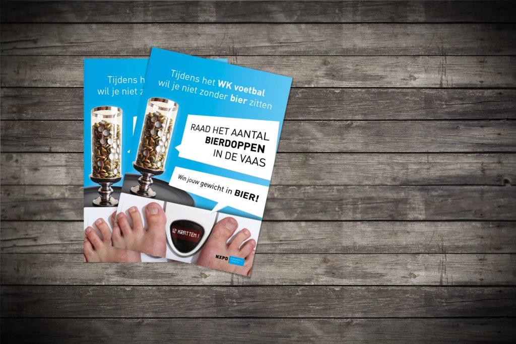 flyers voor een evenement, NXPD