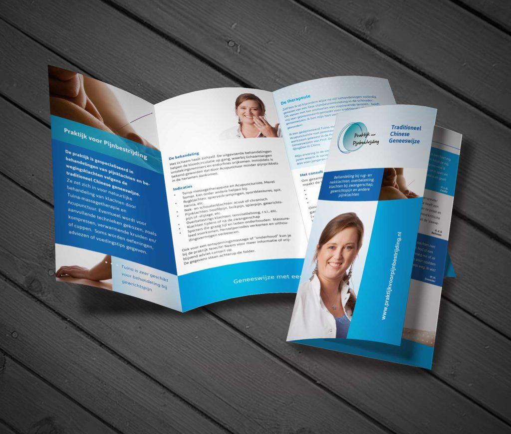 flyers voor evenementen, flyeractie, Praktijk voor Pijnbestrijding