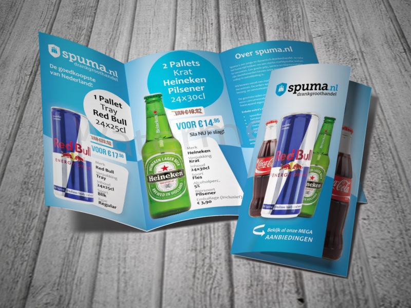 Folders laten drukken, Spuma.nl