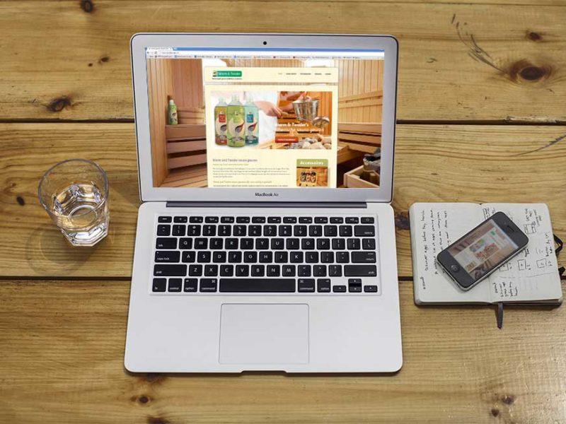 WordPress website, WordPress Webshop