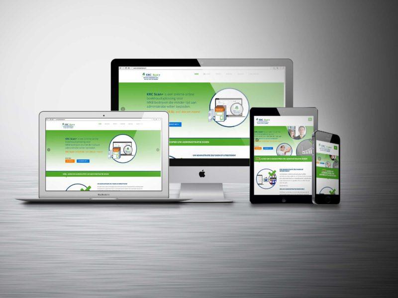 KRC, Onepage website
