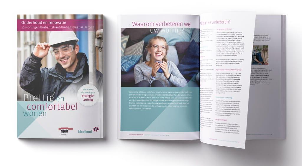 Brochure voorbeelden A4